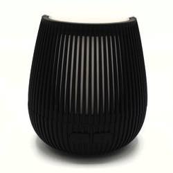 AllPura Tulip (Black) mobile ultrasoon diffuser   Led & Usb