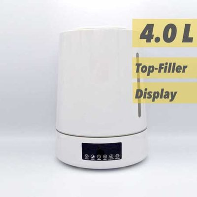 LB Aquair Delta Wit (ultrasoon)| Digitaal, afstandsbediening, Ionisator, Aroma-pad, en Waterfilter (25W)