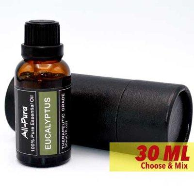 (30ml) All-Pura Eucalyptus (Eucalyptus) 100% pure essentiele etherische olie (Eucalyptus Globulus)