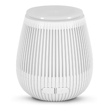 All-Pura Aroma diffuser Tulip (Wit/White) USBConnect & Timer & Ambi-light | 100ml | (ultrasoon)