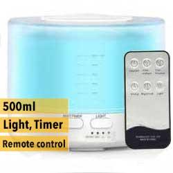 Aroma diffuser AllPura Icon (wit/white)  Timer, Ambi-light & RemoteControl | 500ml  | (ultrasoon)