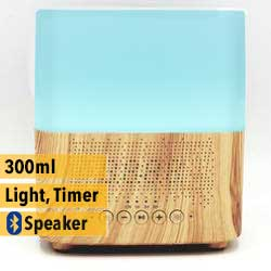 aroma diffuser cube wood