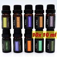 10 stuks etherische olie voordeelset