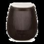 All-Pura Aroma diffuser Tulip (Zwart/Black) USBConnect & Timer & Ambi-light | 100ml | (ultrasoon)