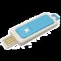 AromaGO Aroma diffuser 5V USB Connect  ***Turquoise kleur***  (brander/burner)