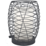 AirAqua Twister diffuser (zwarte metalen buitenkant; inwendig kaars)  Afstandsbediening | 120ml | (ultrasone aroma diffuser)